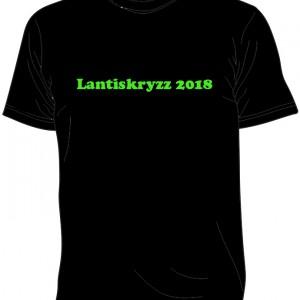 2018 lantiskryzz tshirt svart